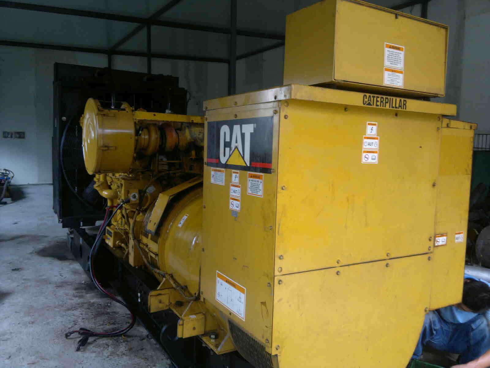 柴油发电机维修机组排放物质分析