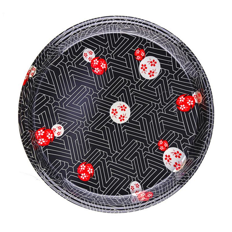 圆型食品寿司碟子底面