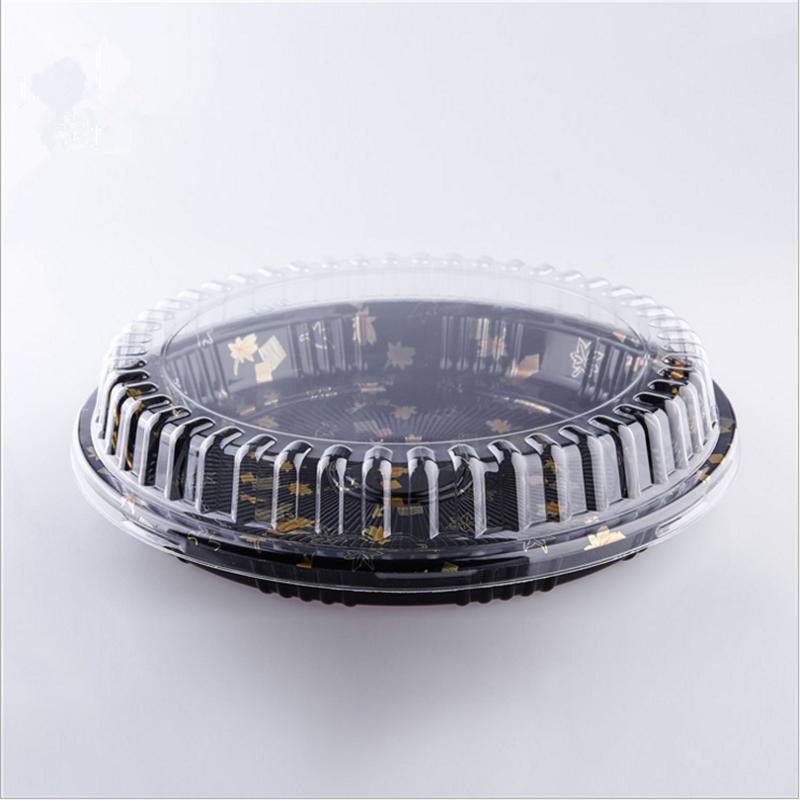 圆型食品寿司餐盒