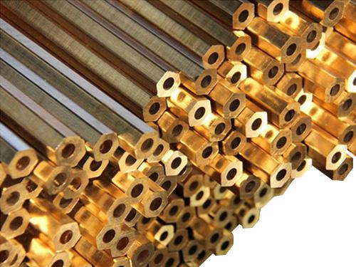 黄铜六角管