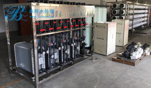 480T纯水设备系统
