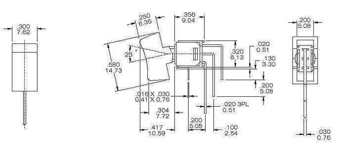 RS4-102R4三脚两档90度弯脚卧式的图片