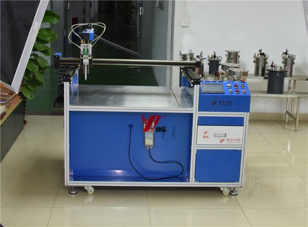 铅酸蓄电池自动灌胶机