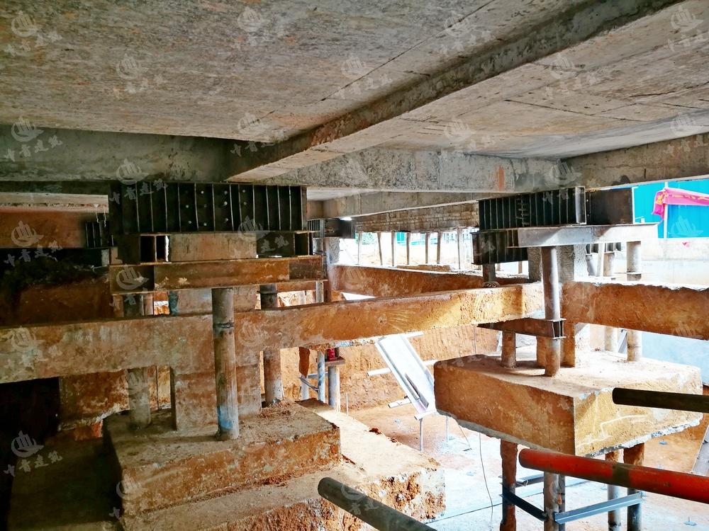 東莞別墅增加地下室加固改造工程實例