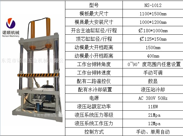 诺顺机械NS-1210